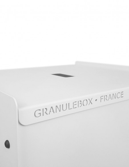 Granulebox 55kg blanc WORLD