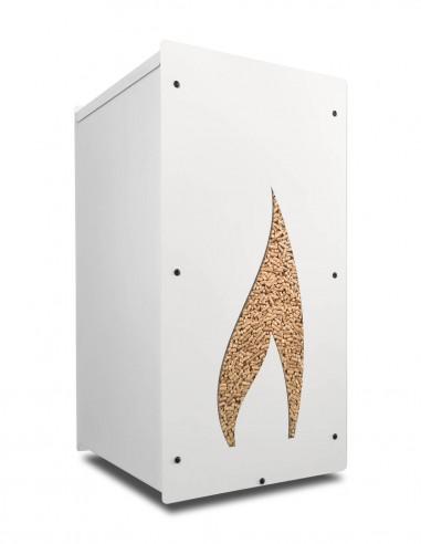Granulebox 55kg blanc FLAMME