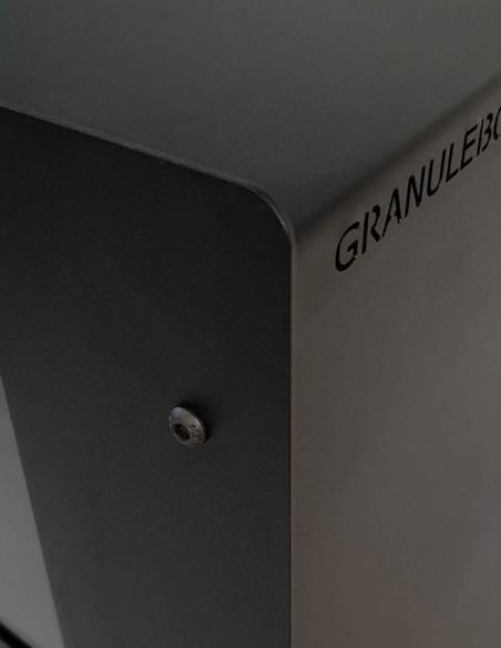 Trouver un rangement pour le granulés de bois pas cher et design