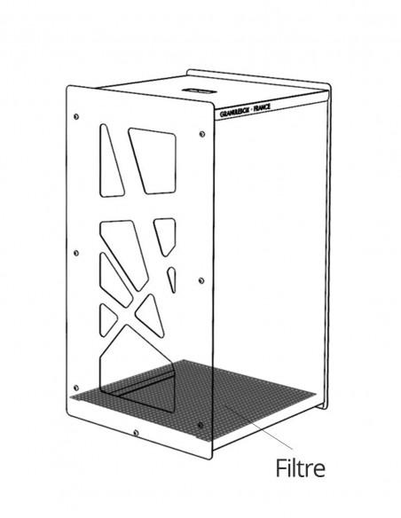 Le filtre à poussière, accessoire indispensable pour les granulebox