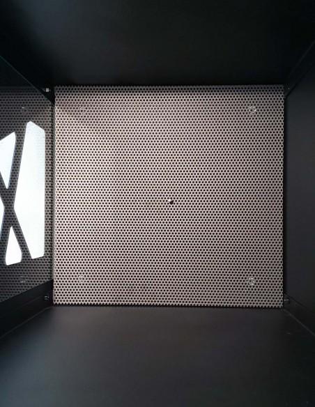 Le filtre à poussière avec des trous de 3mm pour séparer les granulés de bois des résidus