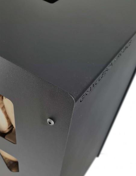 solution de stockage design pour les bûches de bois en intérieur