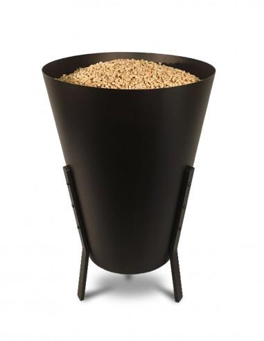 Stockage de pellets en intérieur