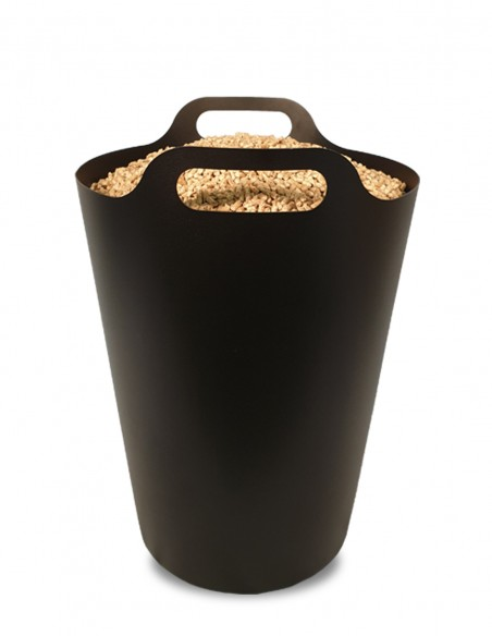 Stockage de pellets design