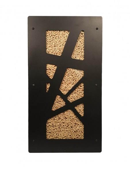 Granulebox 55kg noir ARCHI