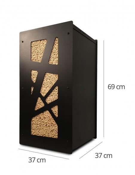 où trouver un meuble pour stocker le granulés de bois