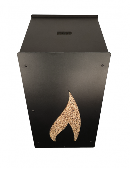 Granulebox 55kg noir FLAMME