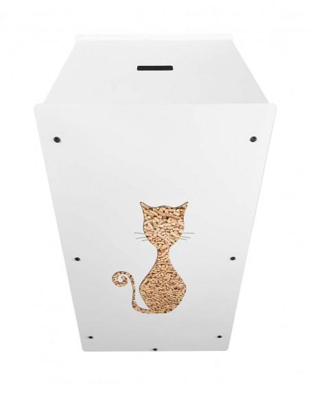 Granulebox 55kg blanc FELIX